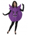 Fun duivel emoticon verkleedkleding volwassenen